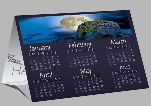 calendari personalizzati sardegna