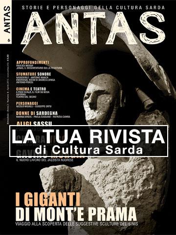 Antas 06 – Copertina Giganti di Mont'e Prama